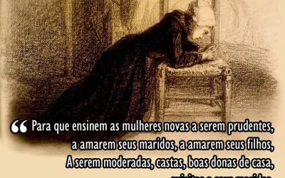 """""""Mulher virtuosa quem a achará?"""" por Flávia Silveira"""