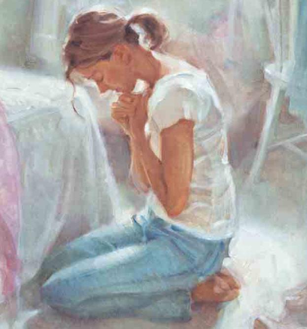 Woman Praying Painting 60k Woman Praying 1883 Jpg