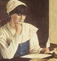 mulher puritana