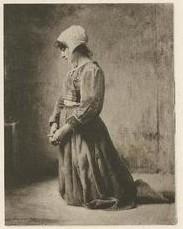 Mulher orando 2