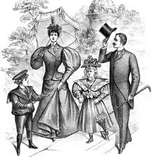 victorian family