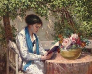 mulher lendo 2