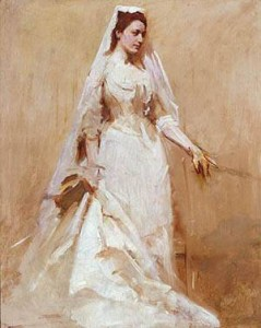 Abbott_Handerson_Thayer_xx_A_Bride_about_1895