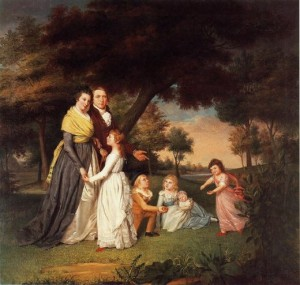 james-peale-the-artist-and-his-family