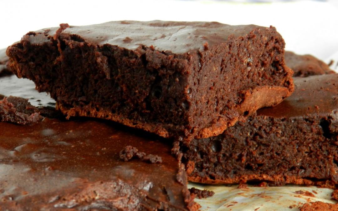 [Mulheres Prendadas] Brownie de Três Ingredientes