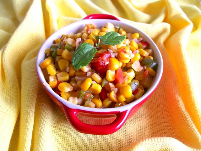 [Mulheres Prendadas] Salada quente de milho