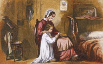 """""""Quando Você Ora Com Os Seus Filhos, Você Os Ensina A Orar"""" por Tim Challies"""