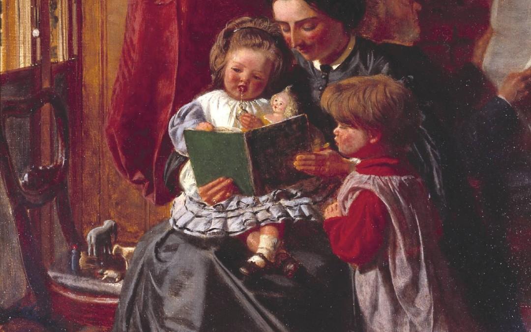 """""""A Leitura como Meio de Educar os Filhos"""" por Rebecca VanDoodewaard"""