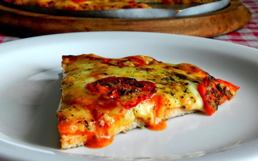 [Mulheres Prendadas] Pizza com massa de frango