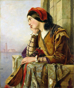 Henry Nelson O'Neil - Woman in Love
