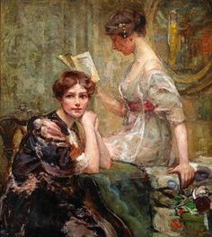 victorianladies reading
