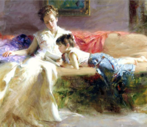 Imagem: 'Late Night Reading' by Pino Daeni