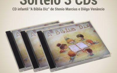 """[Fica A Dica + Sorteio] CD """"A Biblia Diz""""de Stenio Marcius e Diego Venâncio"""