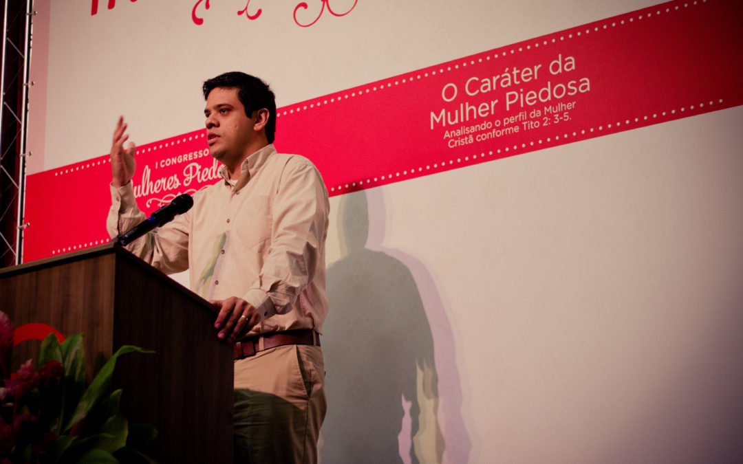 """[I Congresso MP] Palestra: """"A Essência da Piedade"""" – Tito 3:1-8 por Pr. Daniel Silveira"""