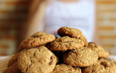 [Mulheres Prendadas] Cookies de pasta de amendoim