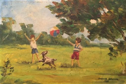"""[Cantinho da Criança] """"O Tempo e a Alegria"""" por Elina VanderZaag"""