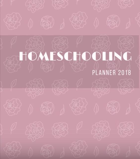 [Fica A Dica] Homeschool Planner 2018 da Familia de Trigo.