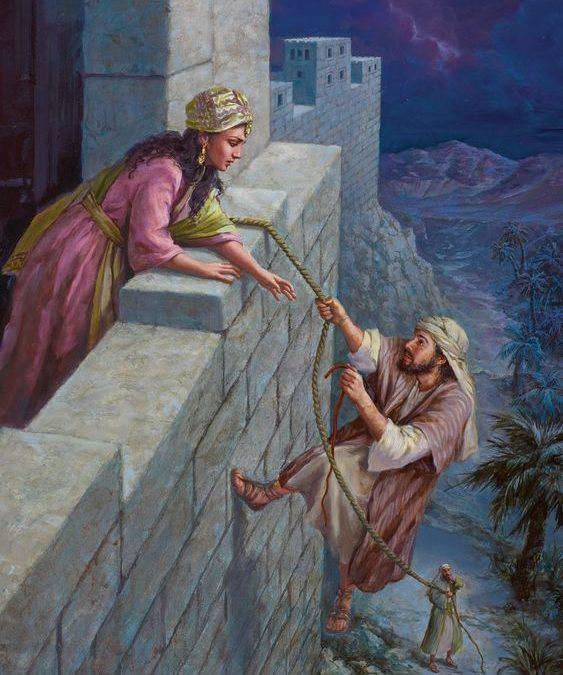 """[Mulheres da Bíblia] """"Raabe: de uma casa de prostitutas para o hall da fé"""" por Jennifer Kuivenhoven"""
